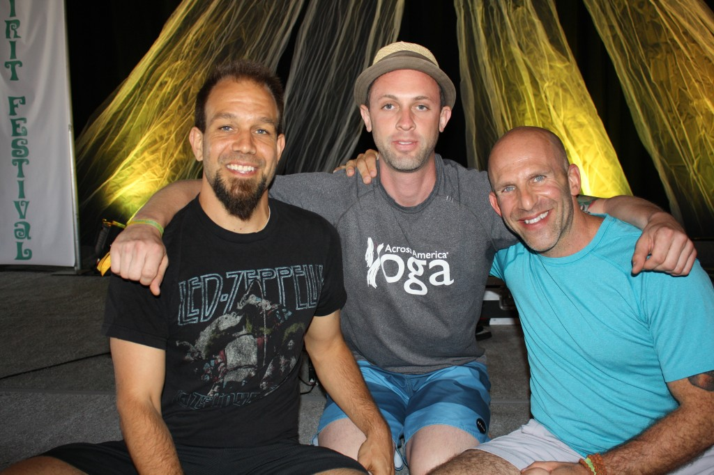 Aaron Pappas, DJ Nate Spross and Les Leventhal