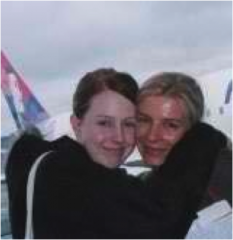 Meggy and I on our last vacation together to Canada.