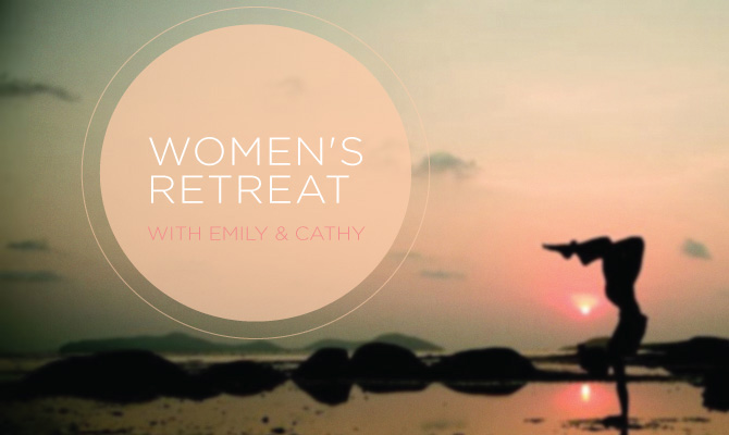 Womans retreat leap yoga